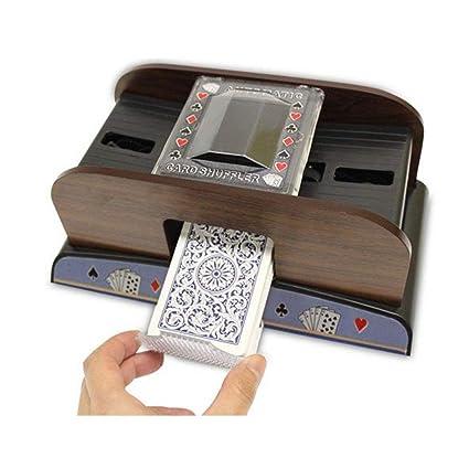 Automatischer Kartenmischer für 2 Decks batteriebetrieben Kartenmischmaschine
