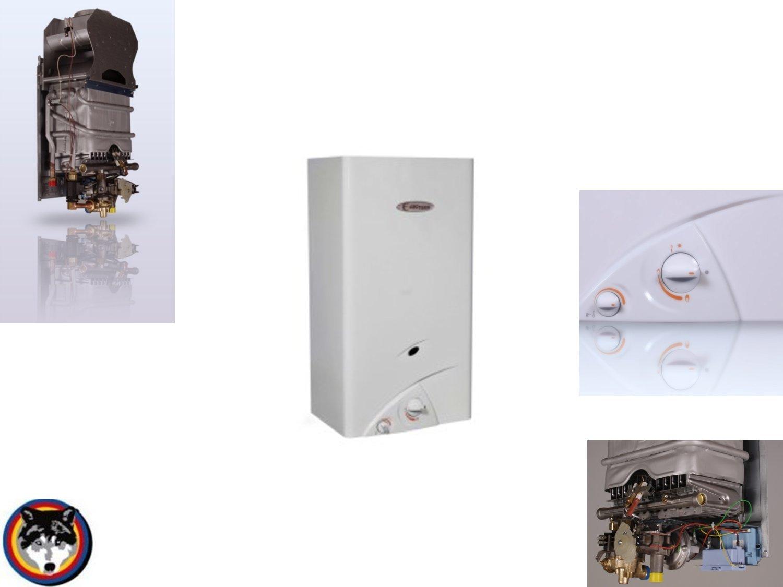 Calentador de agua Gas Calentador Euro plazo C 275 Sé, Geyser Gas Natural E=H: Amazon.es: Bricolaje y herramientas