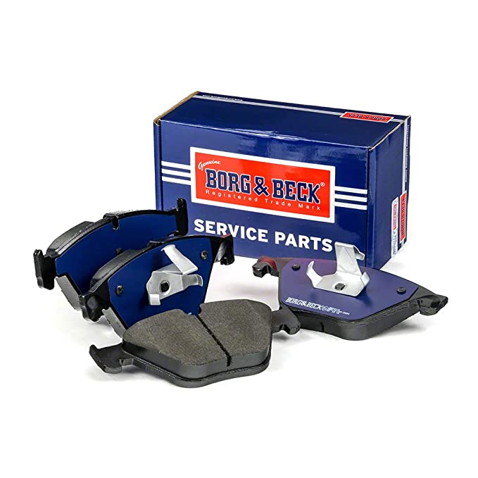 Includes Wear Indicators//Leads Mando Borg /& Beck BBP2228 Front Brake Pads