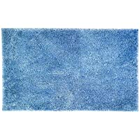 Bambury Microplush Bath Mat Large Bath Mat, Large, Cornflower