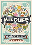 Wildlife: A Map Colouring Book (Colouring Books)