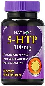 Natrol 5-HTP 100 mg Capsules 30 ea (2 pack)