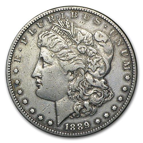 1889 CC Morgan Dollar VF $1 Very - Morgan Dollar Nice Very Coin