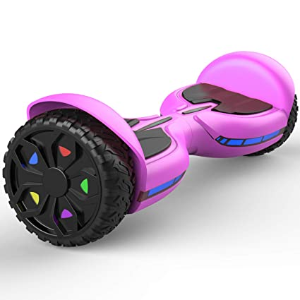 Patinete Eléctrico Autoequilibrio Smart Self Balancing Scooter con Bluetooth, LED Balance Board -Patinete Eléctrico Scooter Monopatín Nuevo Q3