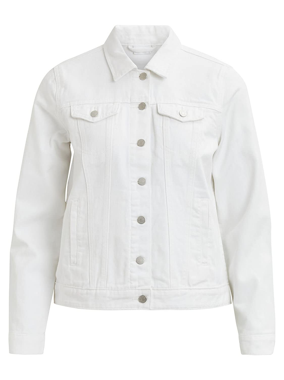 30aecd344 VILA ( BESTSELLER ) - Parka Mujer color  Blanco talla  S 85%OFF ...
