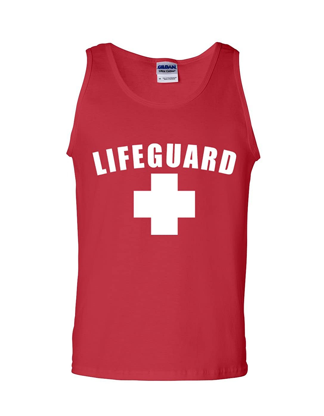 Lifeguard Tank Top Lifeguard Tanks White or Red