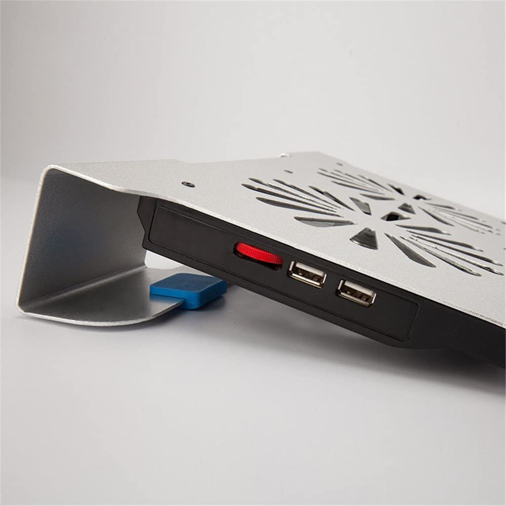 KIMIBen Laptop Cooling Pad The Fan Office USES The Laptop Cooling Bracket//Aluminum Alloy Cooling Pad.