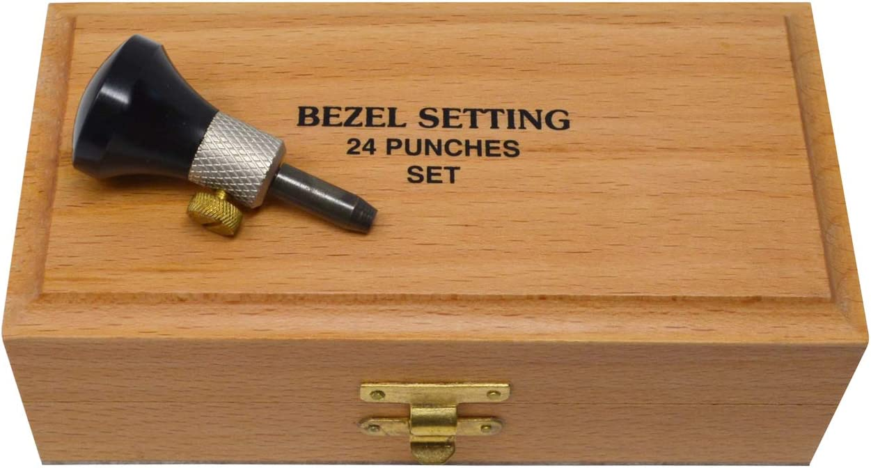 SFC Tools 25-159 Bezel Stone Setting Burnisher Punch Set