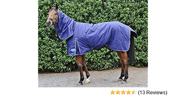 1200 Denier with 200g Fill Barnsby Equestrian Waterproof Horse Winter Blanket//Turnout Rug with Neck Combo