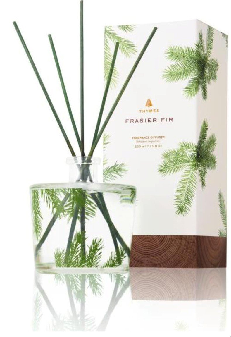 Thymes Frasier Fir Reed Diffuser - with Diffuser Oil 7.75oz by Thymes (Image #1)