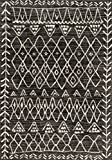 Loloi Rugs, Emory Collection - Black / Ivory Area Rug, 2'5