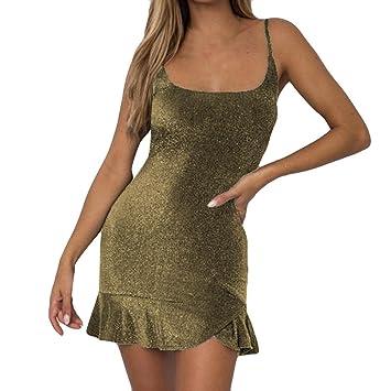 7fe9866471 Vestido sexy para mujer - Saihui sin mangas