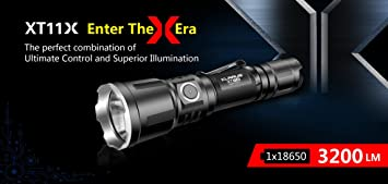 LumensAmazon Tactique Led Rechargeable Klarus Lampe Xt11x 3200 srdCthQ