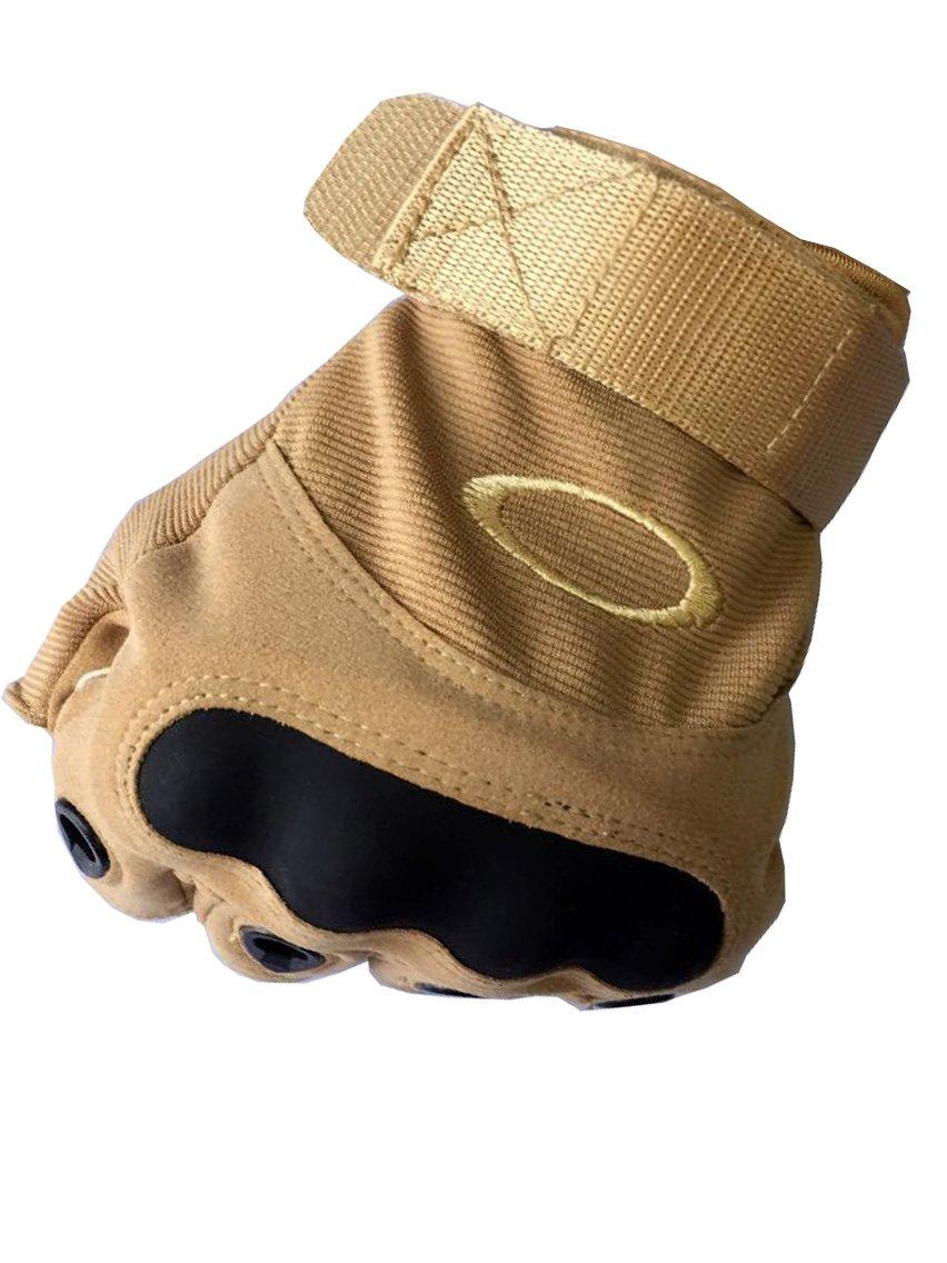 COOLER Handschuhe Military Half-finger Fingerless Tactical Airsoft Hunting Riding Cycling Gloves Outdoor Sports Fingerless Gloves , körperliche Arbeit M:18.5*11.5CM)