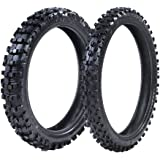ProTrax Front 80/100-21 & Rear 110/100-18 Inch Tire Combo Sand to Soft Terrain
