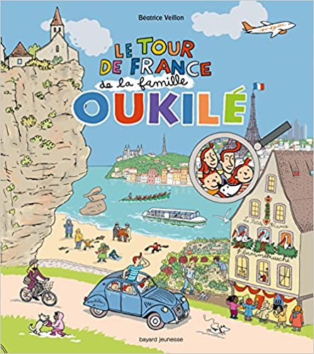 Livre gratuits Tour de france de la famille oukile (le) pdf