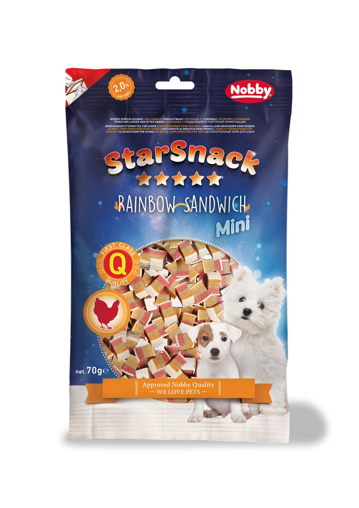Nobby Star Snack Mini Aperitivos