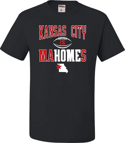 f3f039cbf4d Amazon.com: Go All Out Youth Kansas City is Mahomes T-Shirt: Clothing