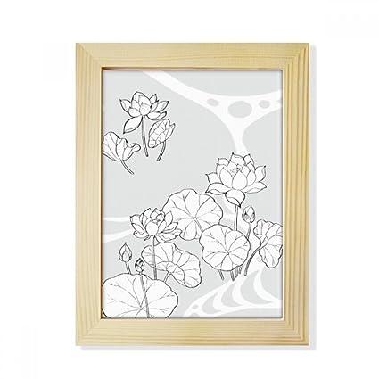 Amazon Com Diythinker Lotus Leaf Lotus Flower River Flower Plant