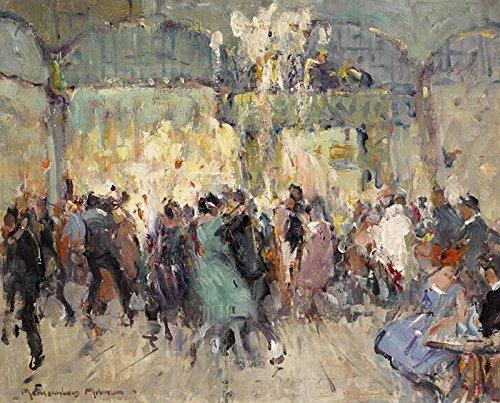 John Maclauchlan Milne Moulin de la Galette, Paris 1920 Private Collection 30