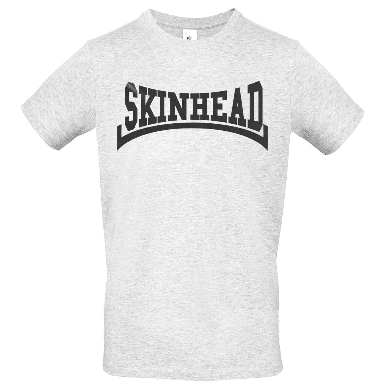 LaMAGLIERIA Camiseta Unisex Skinhead Black - T-Shirt 100% algodón ...