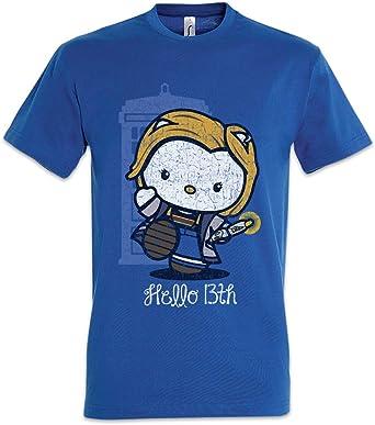 Urban Backwoods Dr. Hello Camiseta De Hombre T-Shirt: Amazon.es: Ropa y accesorios