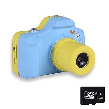 Mini 1.5 Pulgadas Pantalla niños niños cámara Digital 8GB Tarjetas (Azul Rosa): Amazon.es: Bricolaje y herramientas