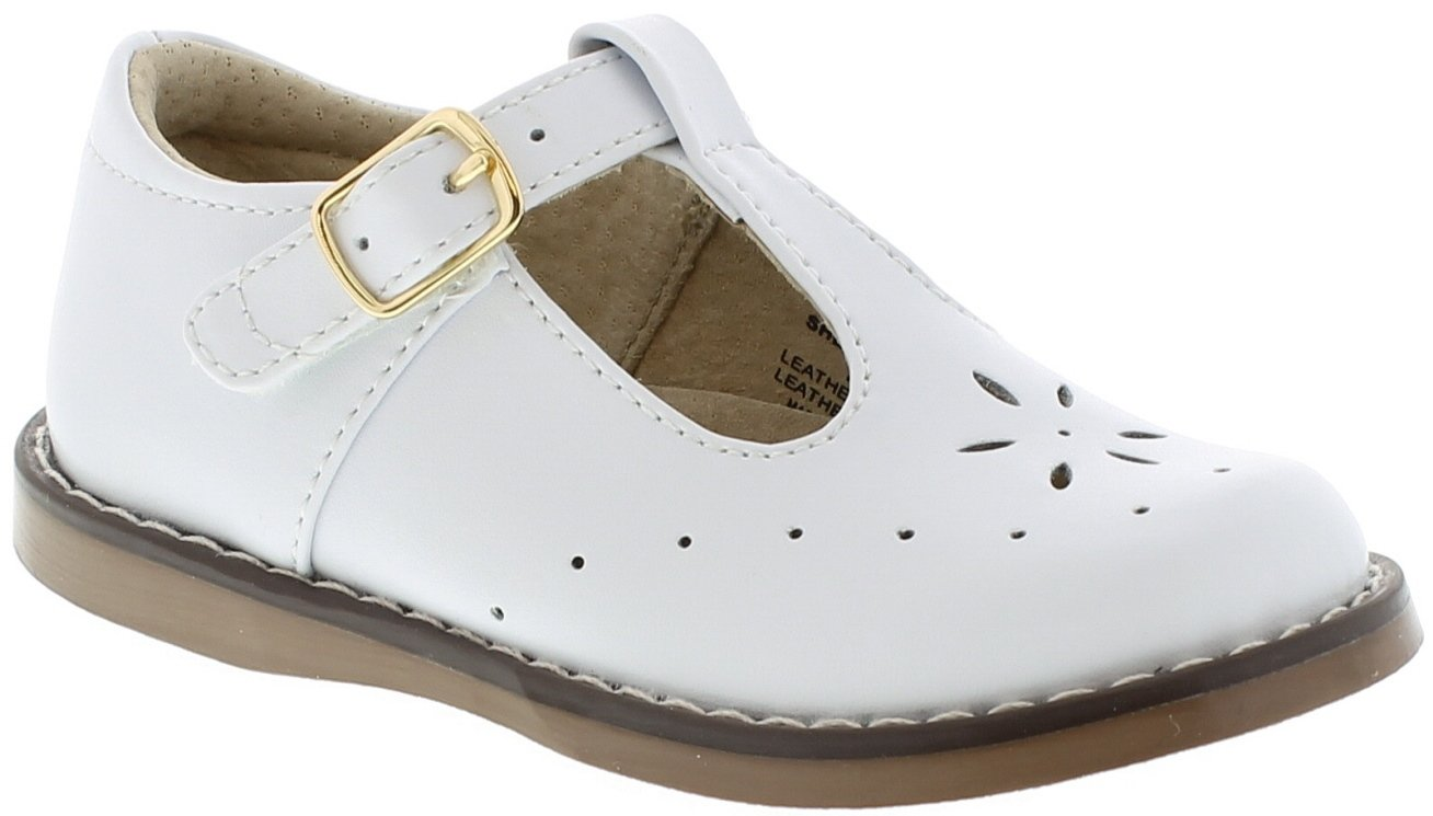 FOOTMATES Sherry (7.5 Toddler M/W, White)