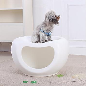 Zsypet El plastico Perro Gato Casa Pequeña Mascota Cama - Durable Perrito Gatito Cueva Perrera Mascota