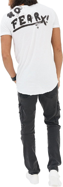 trueprodigy Casual Hombre Marca Camiseta con impresi/ón Estampada Ropa Retro Vintage Rock Vestir Moda Cuello Redondo Manga Corta Slim Fit Designer Fashion T-Shirt
