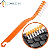 Anti Static Keyboard Brush Computer Cleaning Kit with Anti Scratch Bristles and Non Slip Grip Sturdy Hook to Remove Dust and Clean Electronic PC Motherboard PCB Laptop