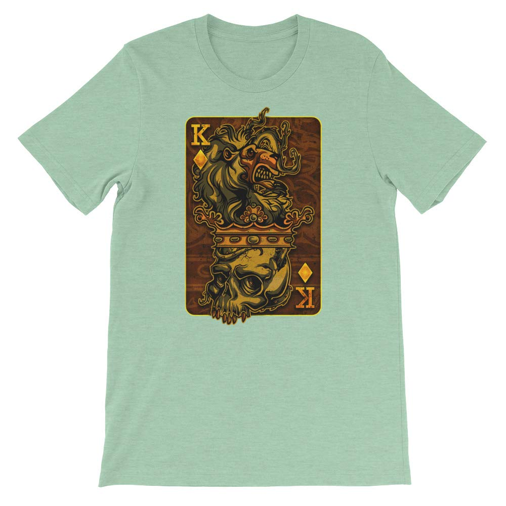 King Card T-Shirt Graphic Shirts Funny Unisex Shirt
