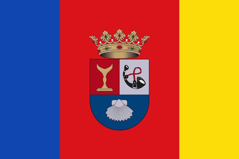 magFlags Bandera Large Albatera Alicante | Bandera Paisaje | 1.35m² | 90x150cm: Amazon.es: Jardín