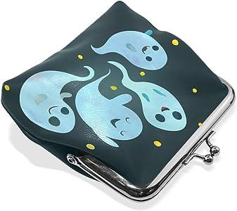 Amazon.com: Halloween Ghost Boo Crew - Monedero de piel con ...