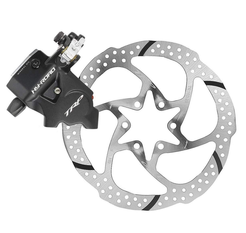TRP HY/RD Flat Mount Road Bike Hydraulic Disc Brake Caliper Rotor Rear 140mm