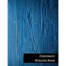 Corporate Minutes Book