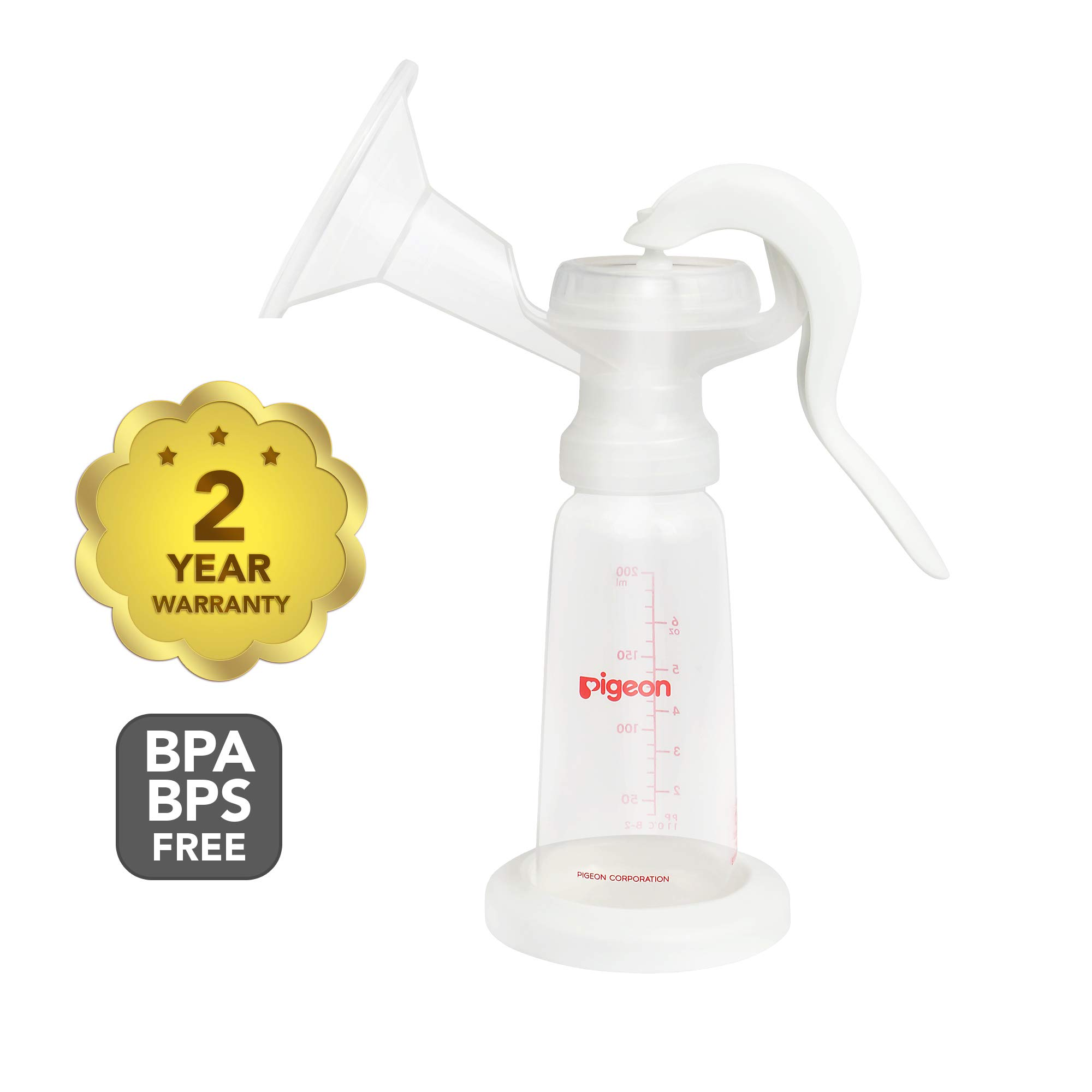 Pigeon Natural-Fit Manual Breast Pump by Pigeon