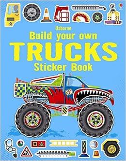 Build Your Own Trucks Sticker Book: Simon Tudhope