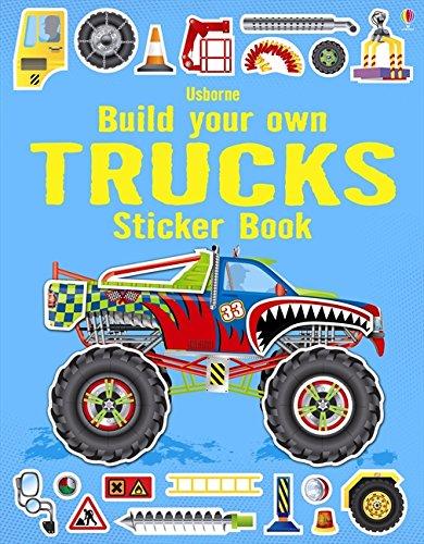 Build Your Own Trucks Sticker Book (Build Your Own Sticker Book)
