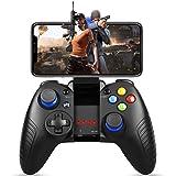 HWZDQLK モバイルゲームコントローラー、ゲームコントローラーワイヤレス4.0ゲームパッドPUBG&Fotnite&Moreに最適、サポートiOS Android iPhone iPad Samsung Galaxy