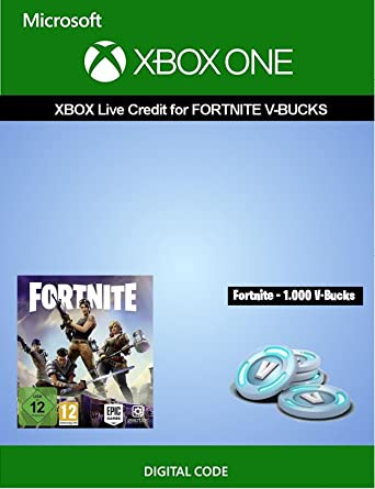 Xbox Live credit for Fortnite - 1 000 V-Bucks | Xbox One