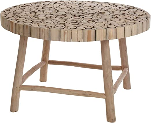 Selsey Teak - Table Basse Jardin/Table d\'appoint (Couleur ...