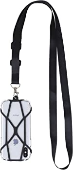 Gear Beast Universal Crossbody Cell Phone Lanyard Compatible with iPhone, Galaxy