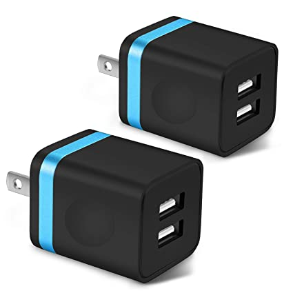 Amazon.com: Cargador de pared USB, de acero con certificado ...