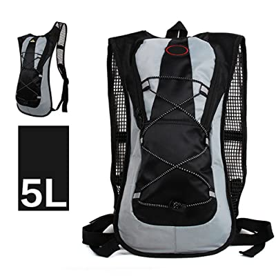 Kiwivalley Outdoor Lightweight Backpack,Waterproof Backpack,Scratch &Water Resistant Material,Perfect for Traveling,Camping,Hiking and Climbing