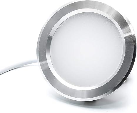 Foco LED empotrable 3 W fino. Luz para campana extractora de ...