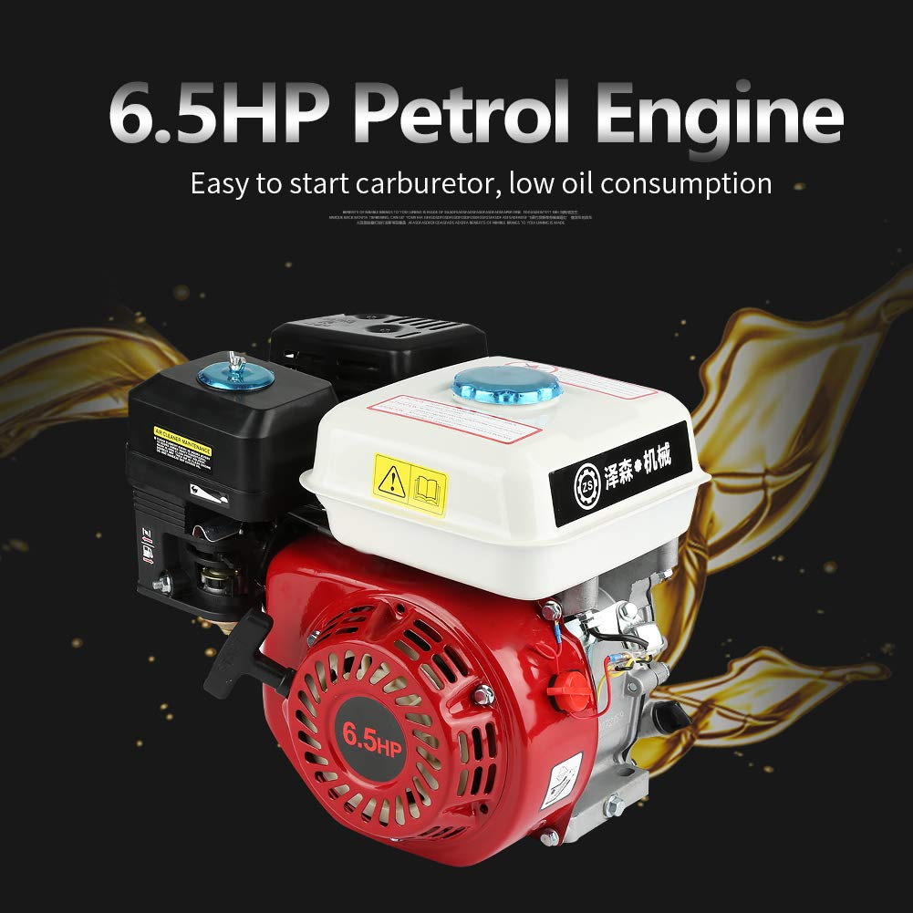 35 x 32 x 26 cm 6.5HP 160cc Ziehen Start 168F OHV Ersatz Benzin Motor 4 Takt Benzinmotor