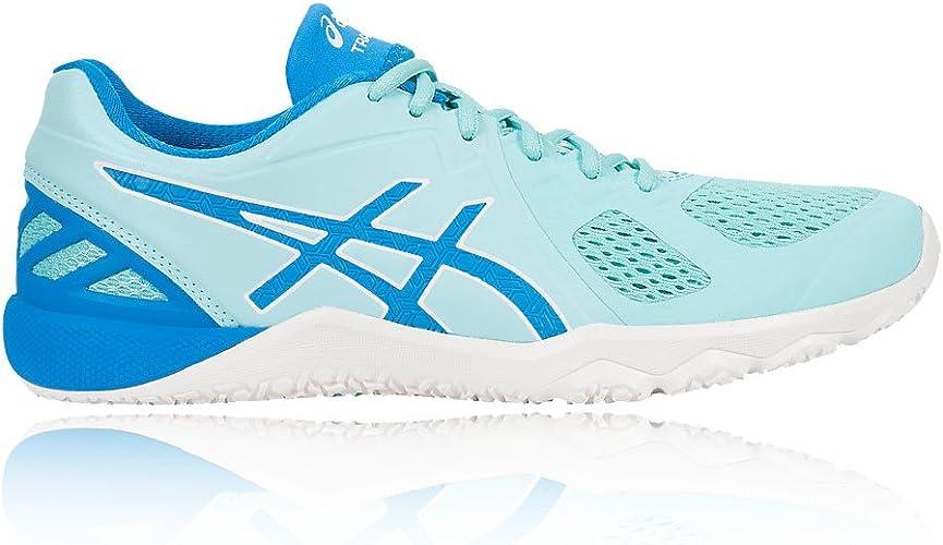 Medalla alarma patata  ASICS Conviction X Women's Training Shoes - 8.5 Blue: Amazon.co.uk: Shoes &  Bags