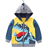 Nyan Cat May's Boys Clothes Hooded Coat Cute Dinosaur For Todddler Jacket Lightwight Autumn Warm Outwear