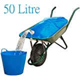 Spares2go Equestrian/Stable Water Container Wheelbarrow Carrier Bag (50 Litre)